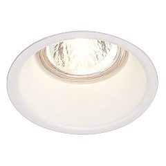 SLV 112911 Horn Recessed, Requires GU10 LED, cut out 75mm, depth 114mm