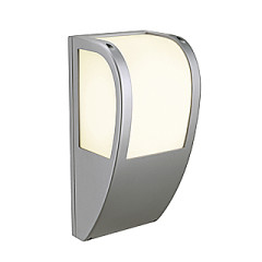 SLV 227174 Keras wall fitting for E27 bulbs Silver Grey