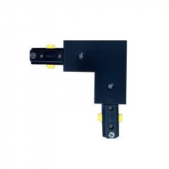 L Connector Black
