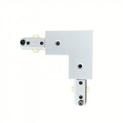 L Connector White