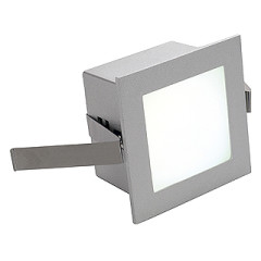 SLV 111260 FRAME BASIC LED Recessed Square Silver Grey