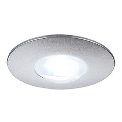 SLV 112240 DEKLED Recessed Silver Grey 1W LED White