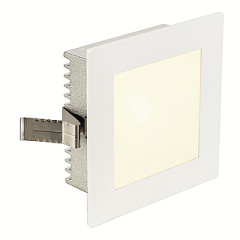 SLV 112731 Flat Frame Basic White G4 12V 20W, cut out 78mm x 78mm, depth 52mm