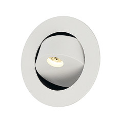 SLV 146362 GILA LED Matt White 3W LED Warm White