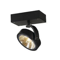 SLV 147250 KALU 1 wall and ceiling luminaire Matt Black QRB111