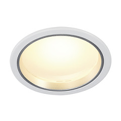 SLV 160441 LED Downlight 30and3 White 30 LED 3000K