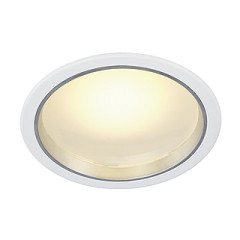 SLV 160461 LED Downlight 36and3 White 36 LED 3000K