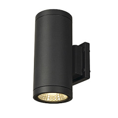 SLV 228525 ENOLA C OUT UP-DOWN wall lamp anthracite 9W LED 3000K