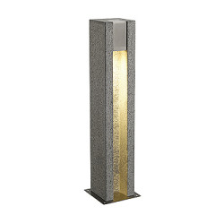 SLV 231440 ARROCK SLOT GU10 floor lamp Square granite salt & pepper GU10