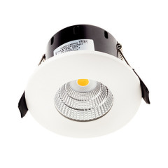 Greenbrook LEDDLC4000W Compact LED Fire Rated White , Cool White, IP65 Dimmable, 51mm Deep