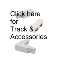 SLV EUTRAC-003-WHITE-GP A - Track Parts - White EUTRAC-003-White-GP