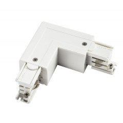 Powergear PRO-0435-L-W Earth Left L Connector White