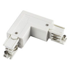 Powergear PRO-0435-R-W Earth Right L Connector White