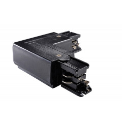 Powergear PRO-0435-L-B Earth Left L Connector Black
