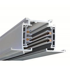 Powergear PRO-R410-S Recessed Multi Circuit Track Silver 1m