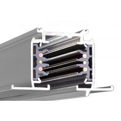 Powergear PRO-R630-S Recessed Dali Multi Circuit Track Silver 3m