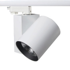 25W 2000lm 3000K LED Track Spot White CRI90 (Suitable for Global & Eutrac Multi Track)