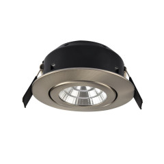 Greenbrook LEDDLTC4000SC 7W LED Fire Rated S/Chrome Adj Cool White IP44, 40mm Deep