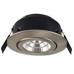Greenbrook LEDDLTC3000SC 7W LED Fire Rated S/Chrome, Warm White IP44 40mm Deep