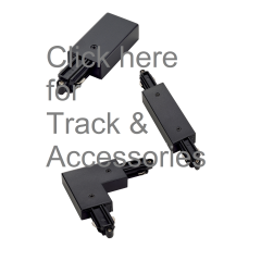 SLV A-Track-Parts-Black A - Surface Mount Track Parts