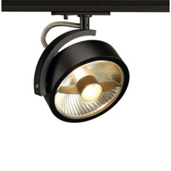 SLV 143540 KALU Spot Light Silver Grey Dimmable, requires QPAR111 LED