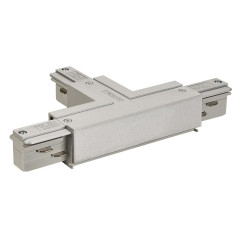 SLV 145634 EUTRAC T-Connector . Left Silver Grey