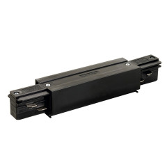 SLV 145660 EUTRAC Connector with Feed in possibility Black
