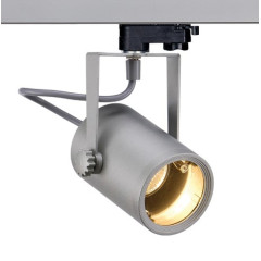 SLV 153854 EURO SPOT Silver Grey, Dimmable, Requires GU10 LED
