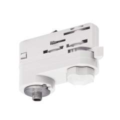 SLV 175201 EUTRAC track adapter White incl. mounting accessory