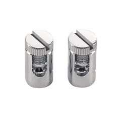 SLV 186352 Wire feed-in Chrome (1 pair) rope system lighting