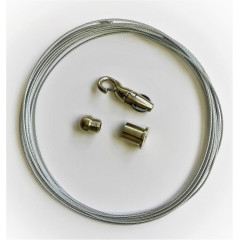 5m Adjustable Wire Suspension Kit for Global Multi Circuit Track (to be used with SKB16 Clips)
