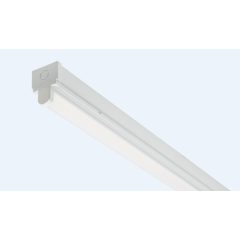 26W 1525mm (5ft) single LED Batten.Dedicated LED light source with polycarbonate diffuser . 5 Year Warranty