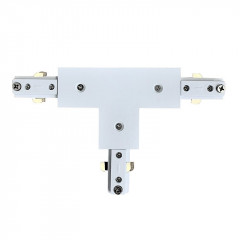 T Connector White