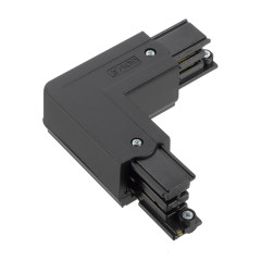 Global XTS34-N Global Corner Connector Black