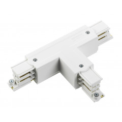 Global XTS37-W Tee Connector White (Inside Earth)