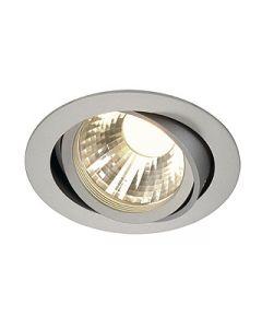 SLV 113584 New Tria LED DISK Adjustable 12W Silver 2700K