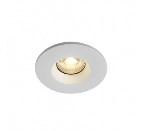 7W Fire Rated Dimmable Downlight IP65 Switchable 3000K or 4000K White