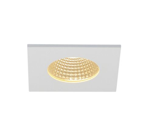 SLV 114431 Patta-F Square Matt White 12W 3000K Dimmable Driver Incl