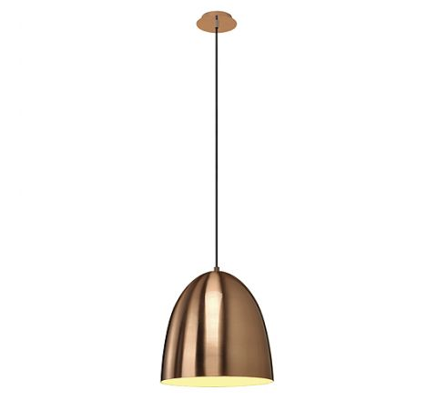 SLV 133019 PARA CONE 30 pendant luminaire copper brushed, dimmable, requires E27 lamp