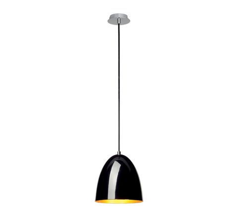 SLV 133050 PARA CONE 20 Black/ Gold, dimmable, requires E27 lamp