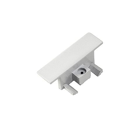 SLV 143281 End caps for Single Circuit Recessed Track White