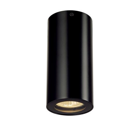 SLV 151810 ENOLA B ceiling luminaire CL-1 Black, dimmable, requires GU10 lamp