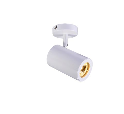 SLV 152011 Enola B Single Single White, dimmable, requires GU10 lamp