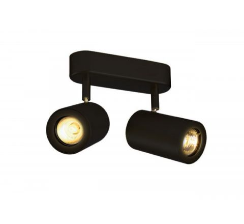 SLV 152020 Enola B Double Black, dimmable, requires GU10 lamps