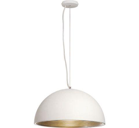 SLV 155901 FORCHINI M pendant lamp PD-2 40cm White and Silver E27