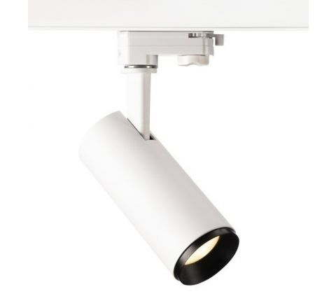 Tube 20W White Dimmable Multi Circuit Track spot
