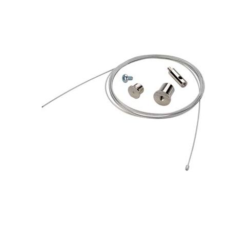 SLV 145800 EUTRAC Wire suspension 1.5m polished steel