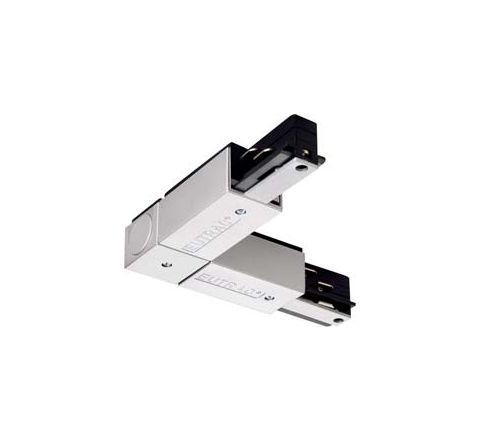 SLV 145674 EUTRAC Corner Connector outer Silver Grey