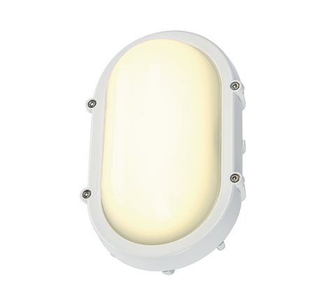 SLV 229921 TERANG wall and ceiling luminaire oval White 8W LED 3000K
