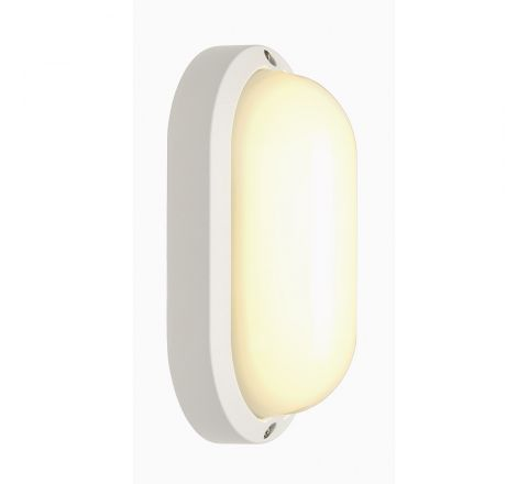 SLV 229931 oval White 11W LED 3000K IP44